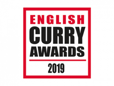 English curry awards Logo.