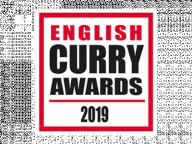 English curry awards Logo.